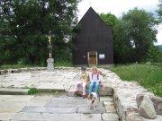 Hrobka rodu Abellů a pomník obětem komunismu 15.7.2009